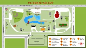 Hoopeston IL McFerren Park map