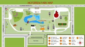 Hoopeston IL McFerren Park map