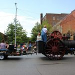 Labor Day Parade - steam engine