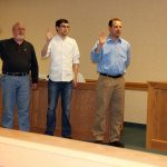 Swearing in Council members